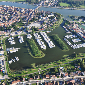 Marinas in Burgund